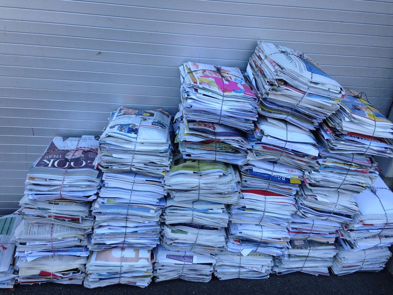 Papier sammeln Kilchberg